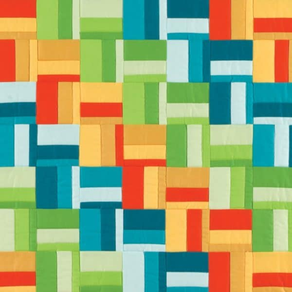 GO! Scrappy Rail Fence Quilt -3033