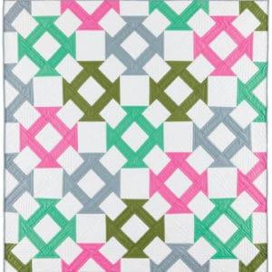 GO! Churn Dash Baby Quilt Pattern-0