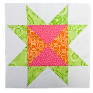 Block of the Month #4 - Hourglass Star