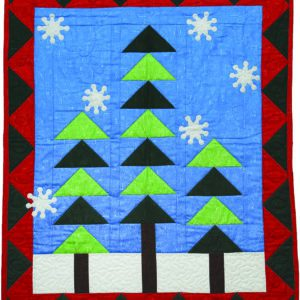 GO! Winter Forest Wall Hanging Pattern
