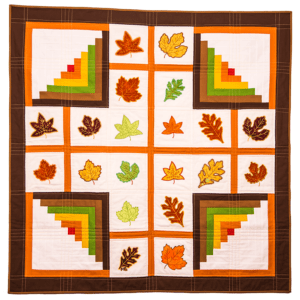 GO! Quilted Leaves and Logs Wall Hanging Pattern
