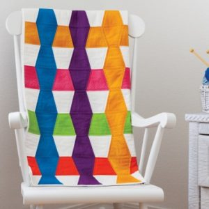 GO! Tumbler Bright Baby Quilt Pattern (Chair)