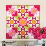 GO! Awesome Blossom Wall Hanging Pattern (lifestyle)