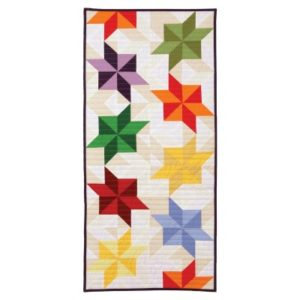 GO! Stretched LeMoyne Star Wide Table Runner Pattern (whole)