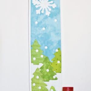 GO! Holiday Medley Skinny Wall Hanging Pattern