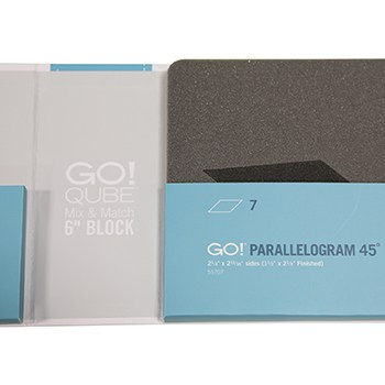 """GO! Qube Mix & Match 6"""" Block Die in package"""