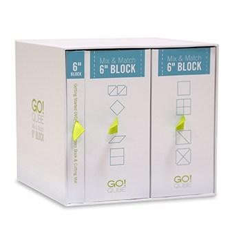 "GO! Qube Mix & Match 6"" Block Self-Storage System"