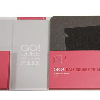 "GO! Qube Mix & Match 8"" Block Die in packaging"