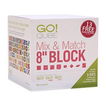 "GO! Qube Mix & Match 8"" Block Colour Carton"