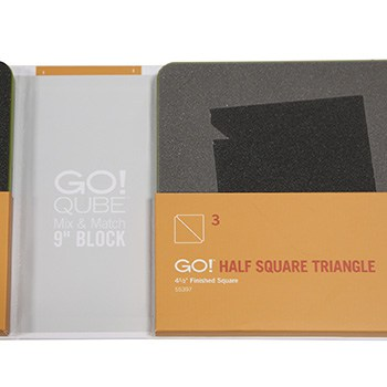 """GO! Qube Mix and Match 9"""" Block Die in packet"""