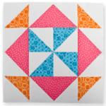 Block of the Month #6 - Magic Pinwheel