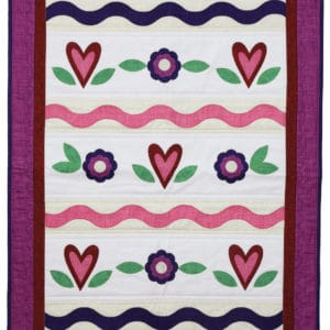 GO! Sweetheart Wall Hanging (Quilt)