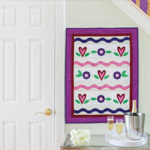 GO! Sweetheart Wall Hanging (Lifestyle)