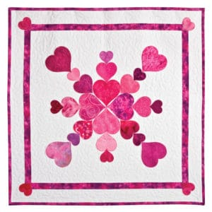 GO! Heart of my Heart Quilt (Quilt Only)