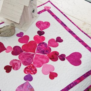 GO! Heart of my Heart Quilt (Lifestyle)