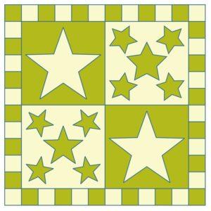 GO! 5 Point Stars