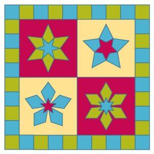 GO! 5 & 6 Point Stars Quilt-0