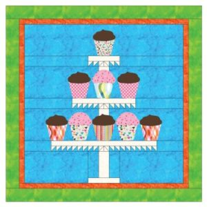 GO! Cupcakes Wall Hanging