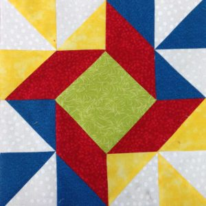 Block of the Month #12 Windblown Squares