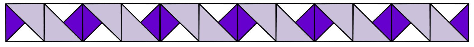 Diagram 3 Rainbow Ribbons Quilt