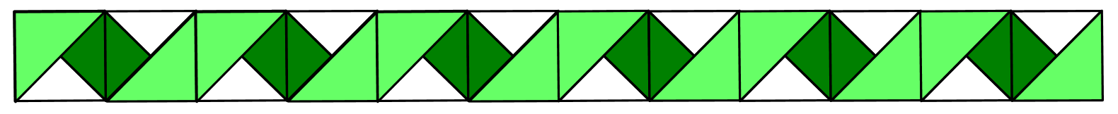 Diagram 9 - Rainbow Ribbons Quilt