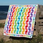 Rainbow Ribbons Quilt
