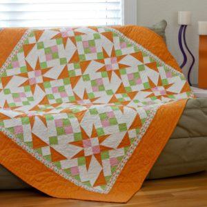 GO! Cactus Flower Quilt Pattern