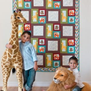 GO! Zoo Blocks Quilt Pattern