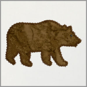 AQEMB55483 bear motif