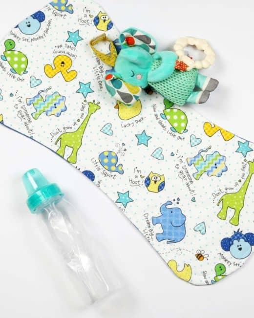 Go Diy Baby Burp Cloth Pattern Accuquilt