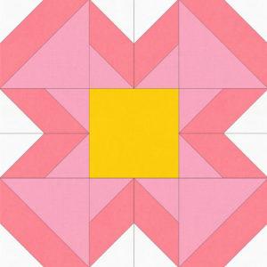 Petals – Block of the Month 11
