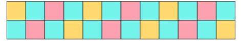 4 Patch Border adding 1 extra colour
